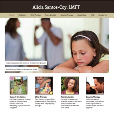 LMFT Website Screenshot